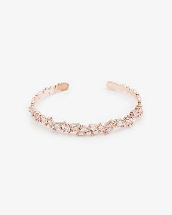 Gem Encrusted Cuff Bracelet