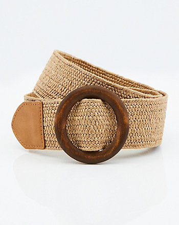 Straw-Like Belt