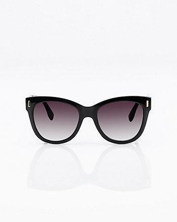 Cat Eye Chain Temple Sunglasses