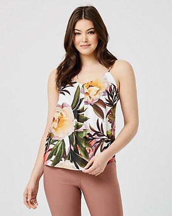Floral Print  V-Neck Camisole