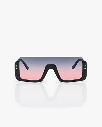 Gradient Shield Sunglasses