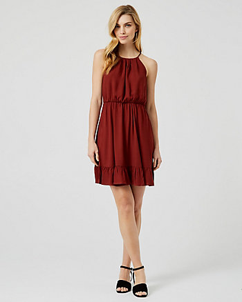 Viscose Halter Dress