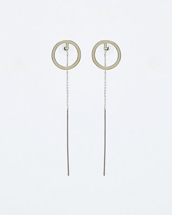 Circle & Bar Earrings