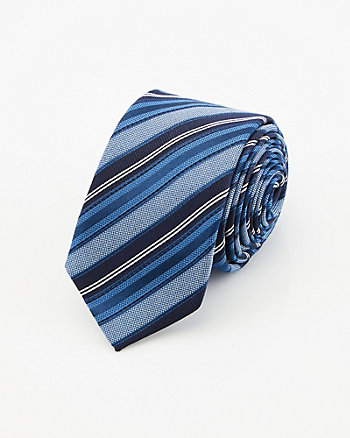 Stripe Silk Tie