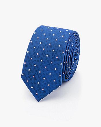 Cravate à motif de diamants