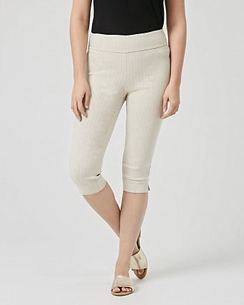 Stripe Technical Stretch Skinny Pant