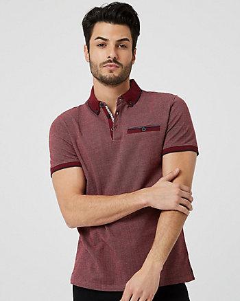 Cotton Slim Fit Polo Shirt