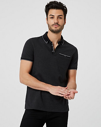 Cotton Slim Fit Polo Shirt