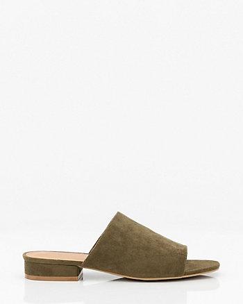 Open Toe Slide Sandal