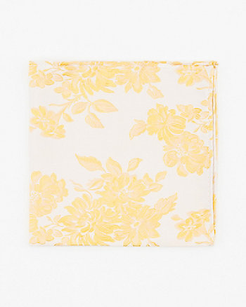 Floral Print Pocket Square