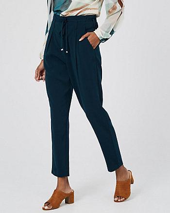Crêpe Slim Leg Track Pant