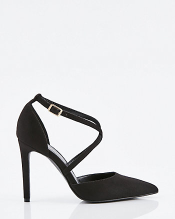 Pointy Toe Criss-Cross Pump