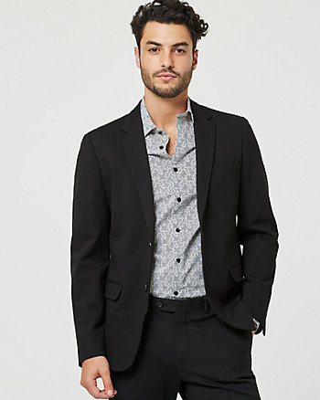 Ponte Knit City Fit Blazer