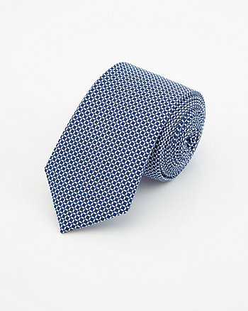 Check Print Cotton Tie