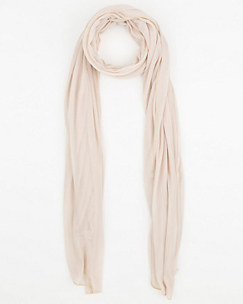 Sheer Knit Scarf