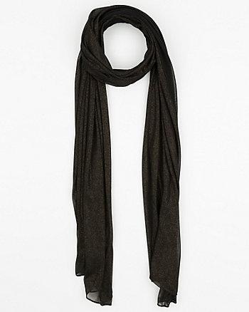 Sheer Knit Scarf