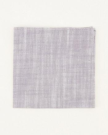 Mouchoir de poche en mélange de lin
