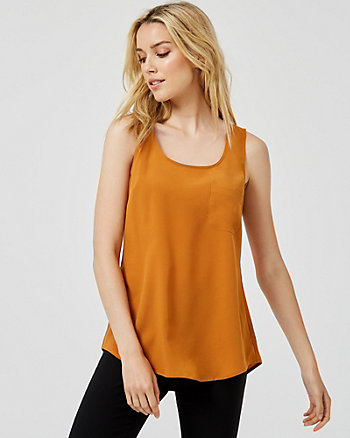 Essential Scoop Neck Tank Top