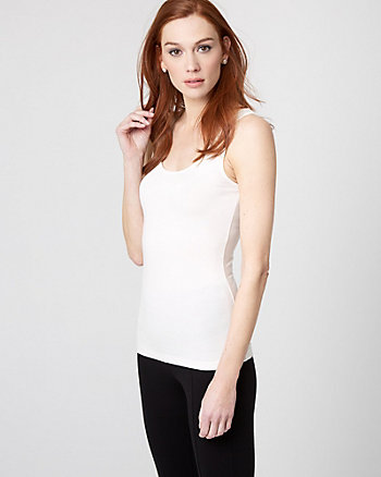Essential Knit Scoop Neck Tank Top