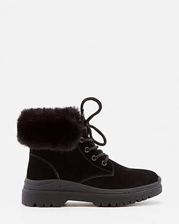 Faux Fur Ankle Boot