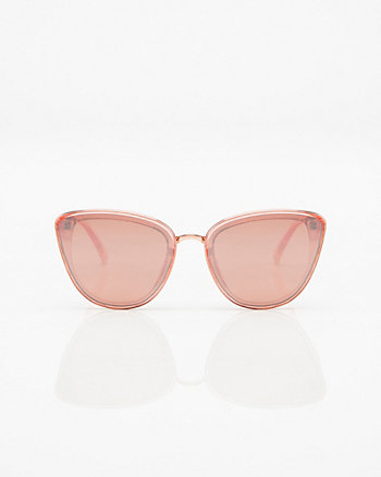 Transparent Cat Eye Sunglasses