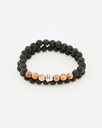 Buddha Gem Beaded Bracelet