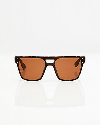 Tortoise Shield Sunglasses