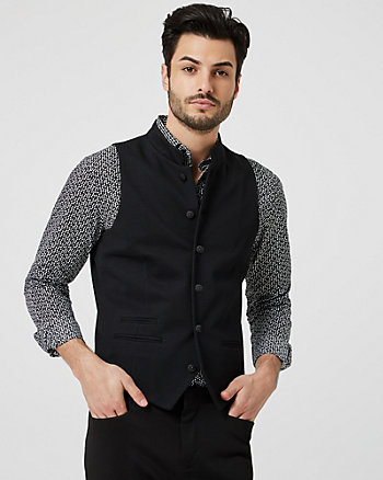 Quilted Knit City Fit Vest