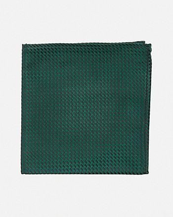 Mouchoir de poche à texture fantaisie