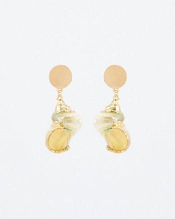 Shell Drop Earrings