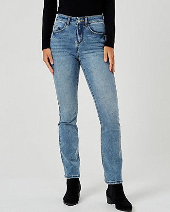 Slight Flare Leg Jeans
