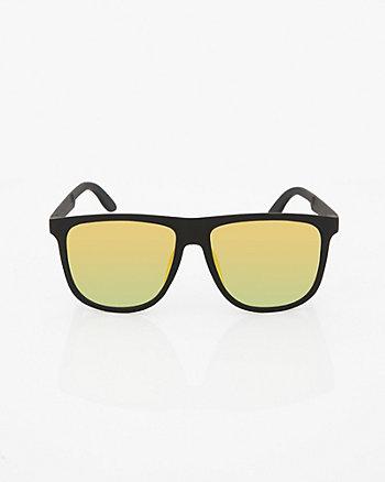 Matte Mirror Sunglasses