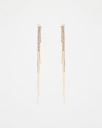 Cubic Zirconia Duster Earrings