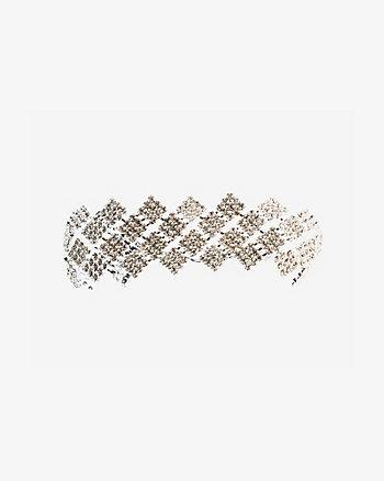 Bracelet à pierres carrées