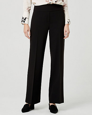 Bi-Stretch Wide Leg Pant