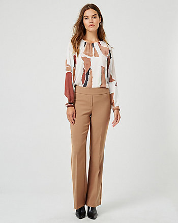 Double Weave Wide Leg Pant