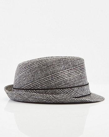 Check Print Fedora Hat