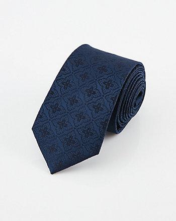 Medallion Print Tie