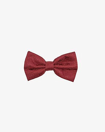 Medallion Print Bow Tie