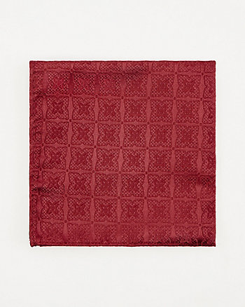 Medallion Print Pocket Square