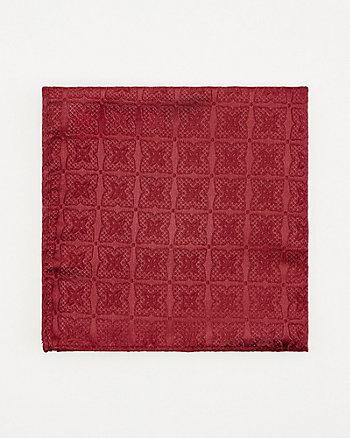 Mouchoir de poche à motif médaillon