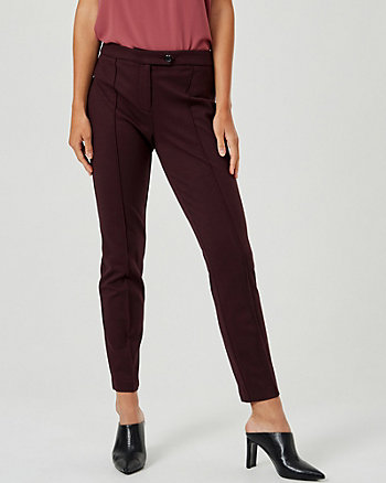 Stretch Twill Straight Leg Pant