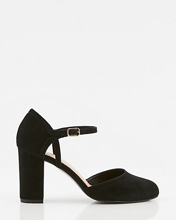 Round Toe Mary Jane Pump