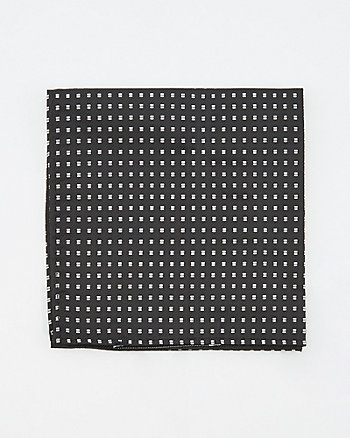Geo Print Pocket Square