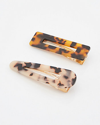 Set of Two Hair Clips