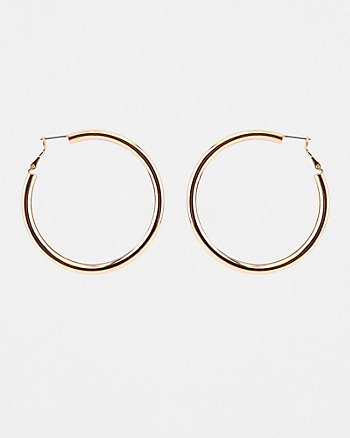 50mm Metal Hoop Earrings