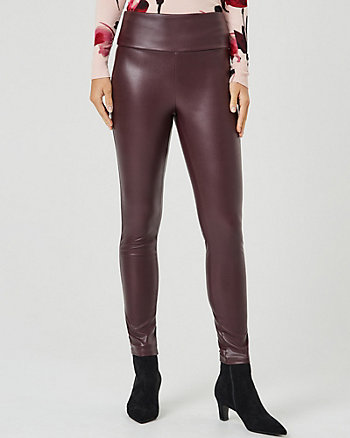 Faux Leather Skinny Legging