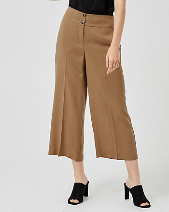 High Waist Culotte Pant