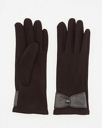 Cotton Blend Touchscreen Gloves