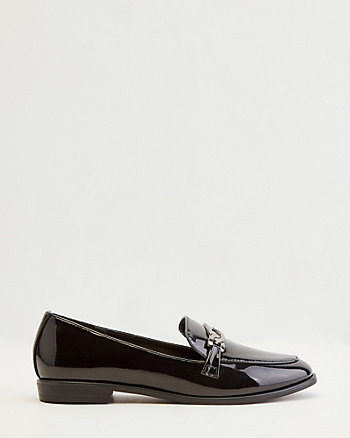 Patent Faux Leather Loafer